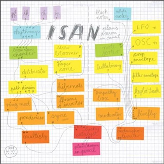 Isan PLANS DRAWN IN PENCIL Vinyl Record