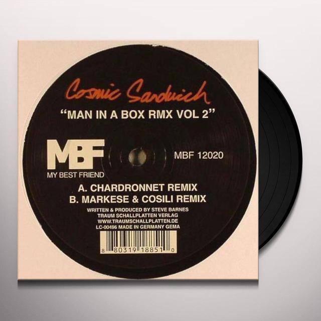 Cosmic Sandwich MAN IN THE BOX RMX 2 Vinyl Record