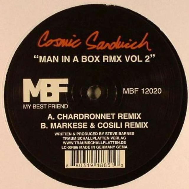 Cosmic Sandwich MAN IN THE BOX RMX 2 (EP) Vinyl Record