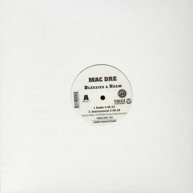 Mac Dre BLEEZIES & HEEM Vinyl Record