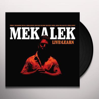Mekalek LIVE & LEARN Vinyl Record