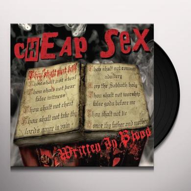 Cheap Sex WRITTEN IN BLOOD Vinyl Record