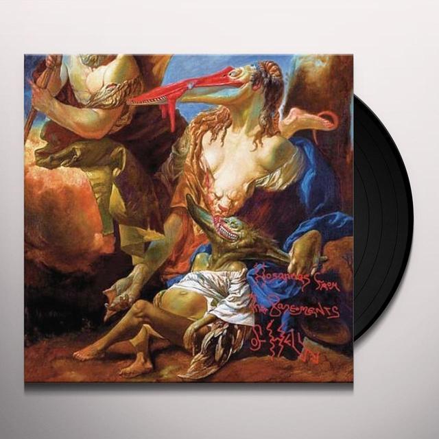 Killing Joke HOSANNAS FROM THE BASEMENTS OF HELL Vinyl Record - Limited Edition