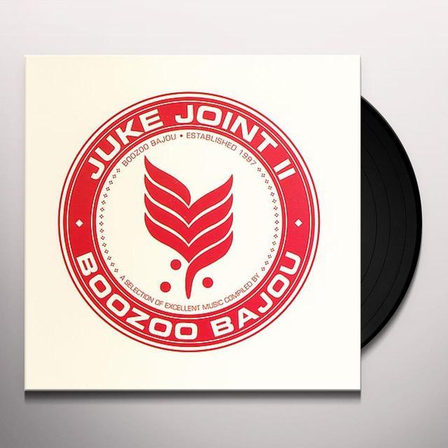 Boozoo Bajou JUKE JOINT 2 EP Vinyl Record