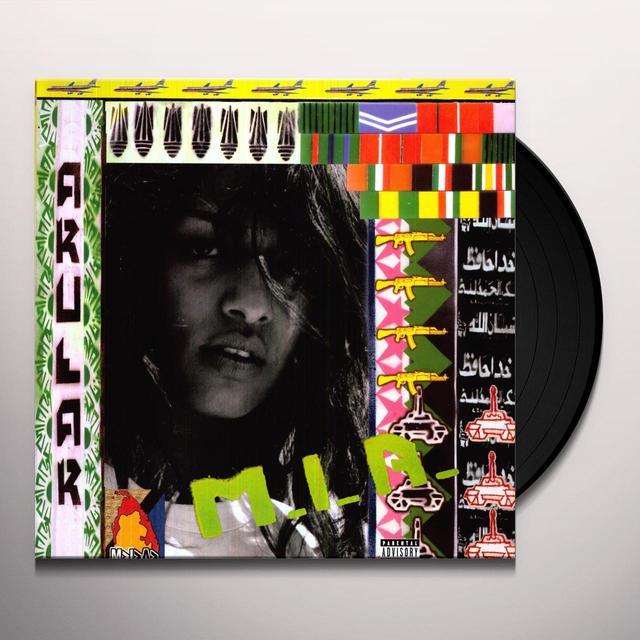 M.I.A ARULAR Vinyl Record