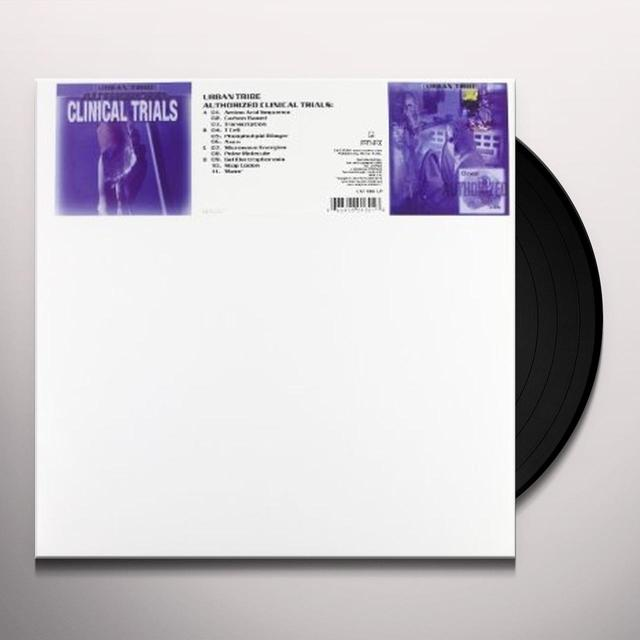 Urban Tribe AUTHORIZED CLINICAL TRIALS Vinyl Record