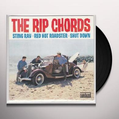 Rip Chords STING RAY & RED HOT ROADSTER & SHUT DOWN Vinyl Record