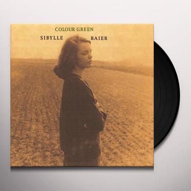 Sibylle Baier COLOUR GREEN Vinyl Record