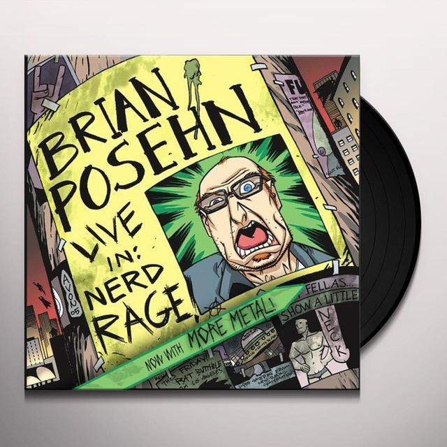 Brian Posehn LIVE IN: NERD RAGE Vinyl Record