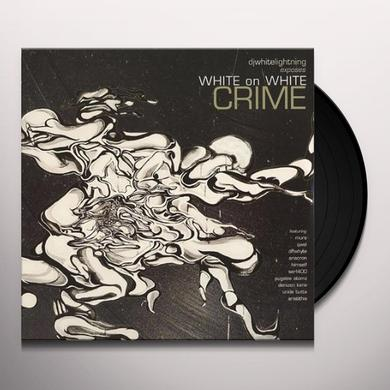 Dj White Lightning WHITE ON WHITE CRIME Vinyl Record