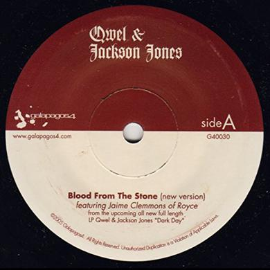 Jackson Qwel / Jones BLOOD FROM THE STONE Vinyl Record