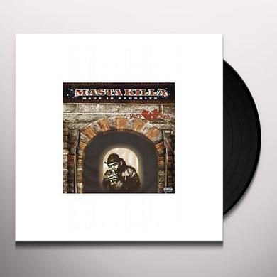 Masta Killa MADE IN BROOKLYN Vinyl Record