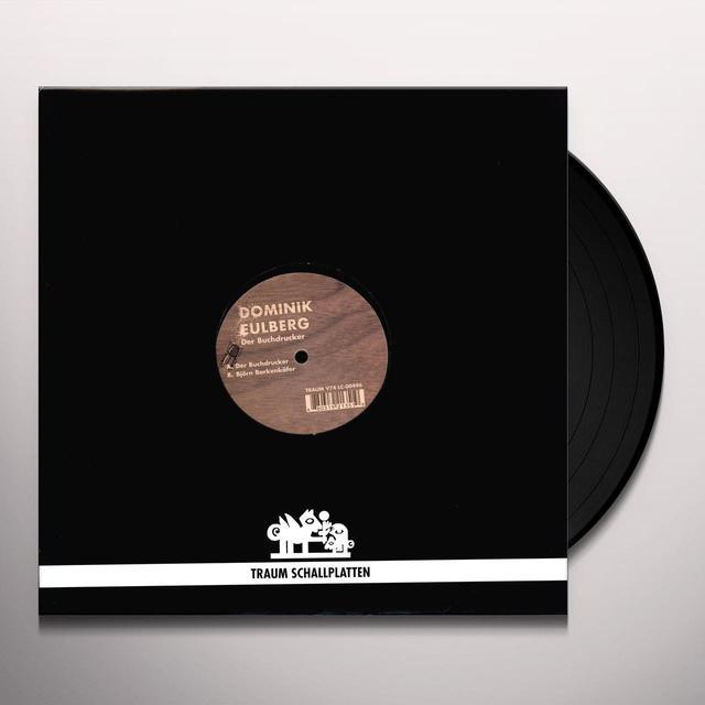 Dominik Eulberg DER BUCHDRUCKER (EP) Vinyl Record