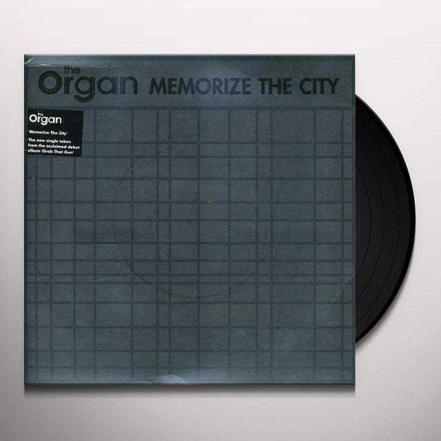 Organ MEMORIZE THE CITY / NO ONE HAS EVER LOOKED SO DEAD Vinyl Record