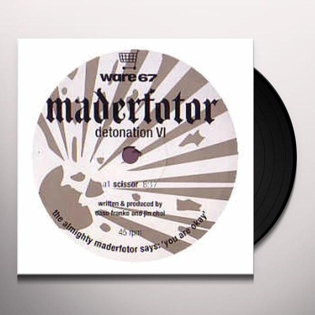 Maderfotor DETONATION 6 (EP) Vinyl Record
