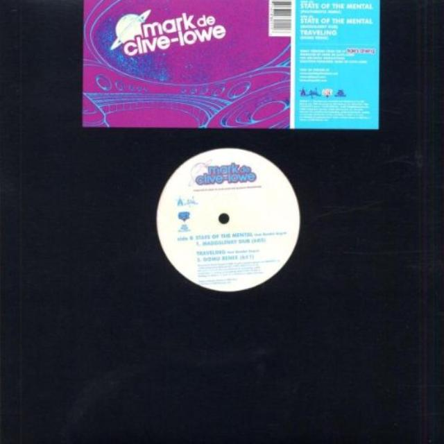 Mark De Clive-Lowe STATE OF THE MENTAL REMIXES Vinyl Record
