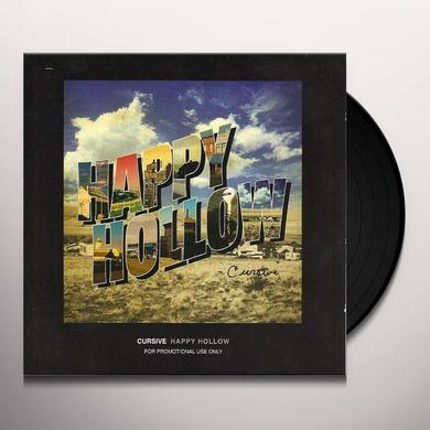 Cursive HAPPY HOLLOW Vinyl Record
