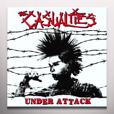 The Casualties UNDER ATTACK Vinyl Record - Colored Vinyl