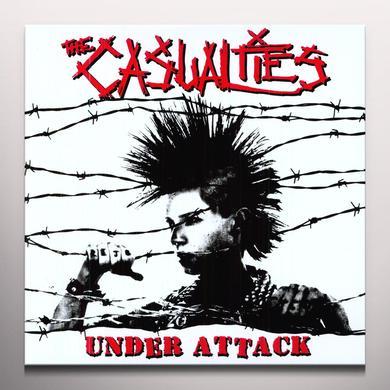 The Casualties UNDER ATTACK Vinyl Record - Colored Vinyl