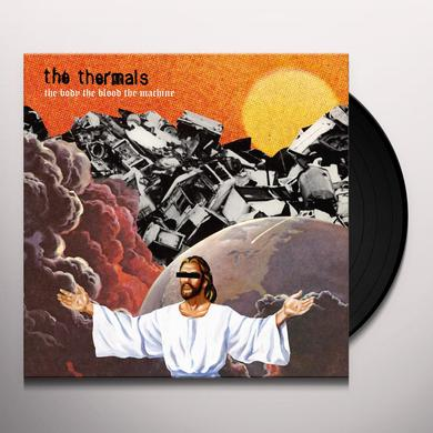 The Thermals BODY THE BLOOD THE MACHINE Vinyl Record - MP3 Download Included