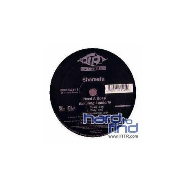 Shareefa NEED A BOSS (X3) Vinyl Record