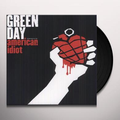 Green Day AMERICAN IDIOT Vinyl Record - UK Import