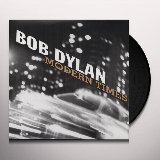 Bob Dylan MODERN TIMES Vinyl Record