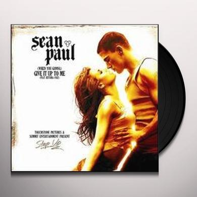 Sean Paul WHEN YOU GONNA: GIVE IT UP TO ME Vinyl Record
