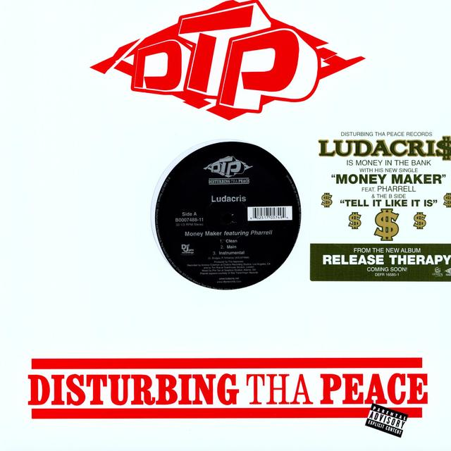 Ludacris MONEY MAKER (X3) / TELL IT LIKE IT IS (X3) Vinyl Record