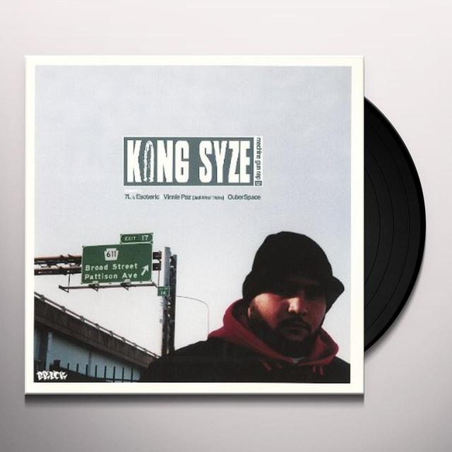 King Syze MACHINE GUN RAP / SIBLING RIVALRY Vinyl Record