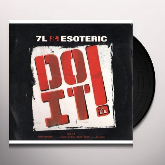 7L & Esoteric DO IT / REST IN PEACE Vinyl Record