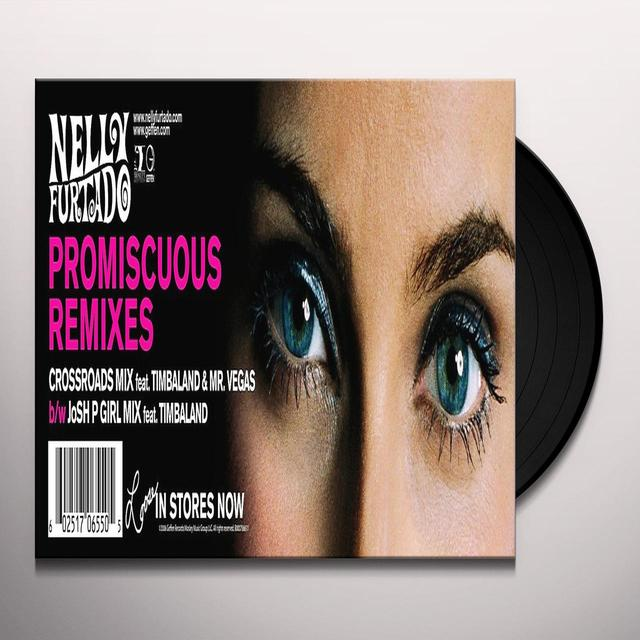 Nelly Furtado PROMISCUOUS (X4) Vinyl Record