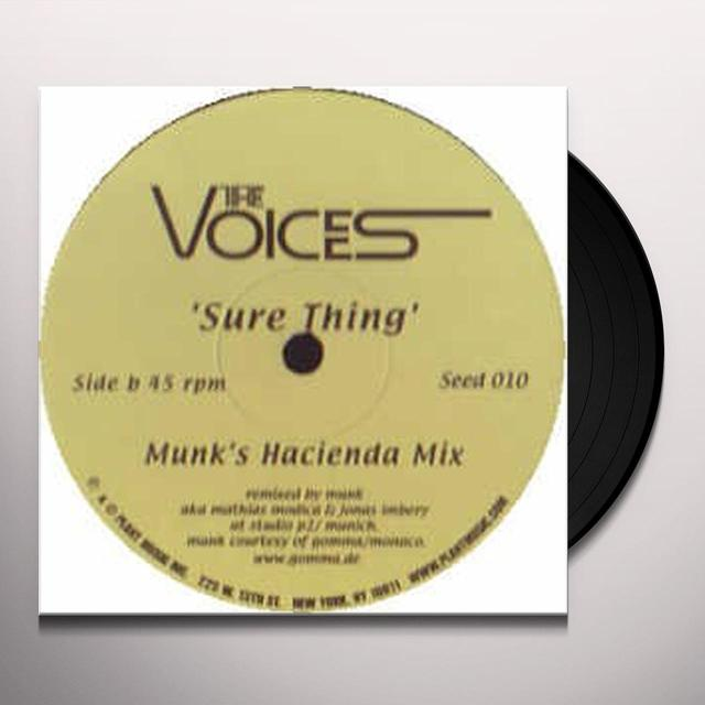Voices SURE THING: MURK HACIENDA MIX Vinyl Record