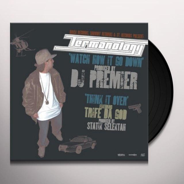 Termanology WATCH HOW IT GO DOWN Vinyl Record