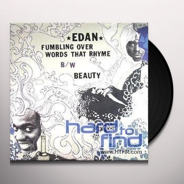 Edan FUMBLING OVER WORDS THAT RHYME Vinyl Record