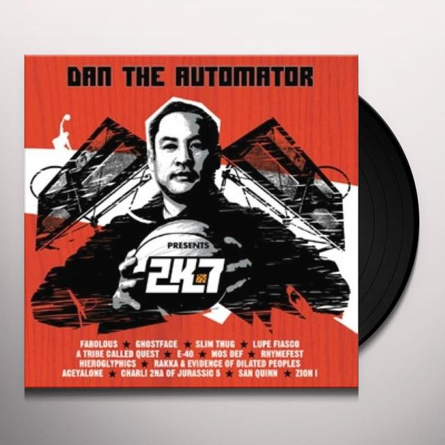 Dan The Automator 2K7: THE TRACKS Vinyl Record