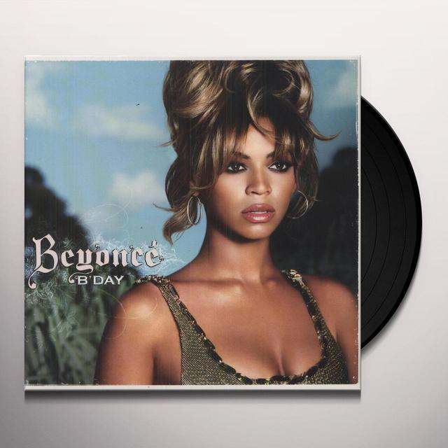 Beyonce B'DAY Vinyl Record