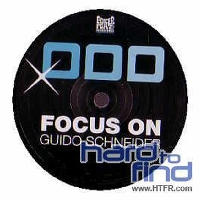 Guido Schneider FOCUS ON Vinyl Record