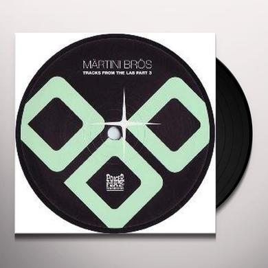 Martini Bros TRACKS FROM THE LAB PT 3 Vinyl Record