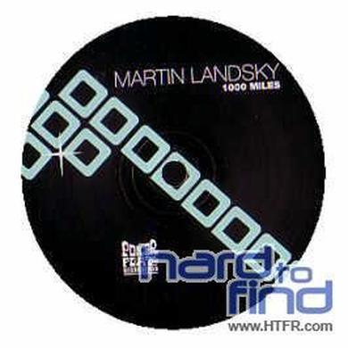 Martin Landsky 1000 MILES / LOCO DICE REMIX Vinyl Record