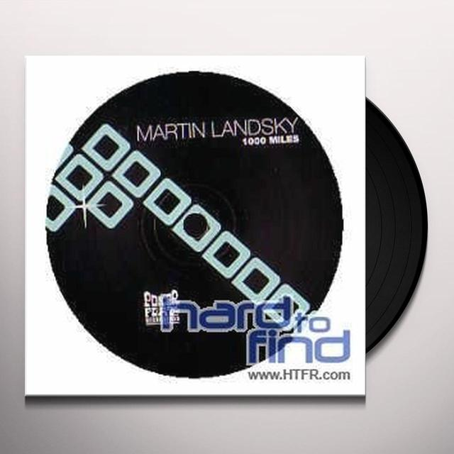 Martin Landsky 1000 MILES / LOCO DICE REMIX (EP) Vinyl Record - Remix
