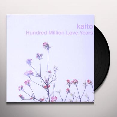 Kaito HUNDRED MILLION LOVE YEARS Vinyl Record