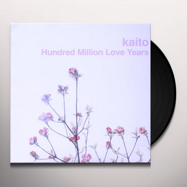 Kaito HUNDRED MILLION LOVE YEARS Vinyl Record