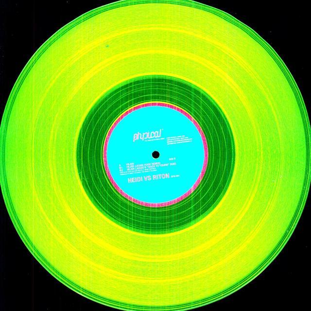 Heidi Vs Riton VEJER EP Vinyl Record