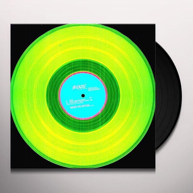 Heidi Vs Riton VEJER EP (EP) Vinyl Record - Remix