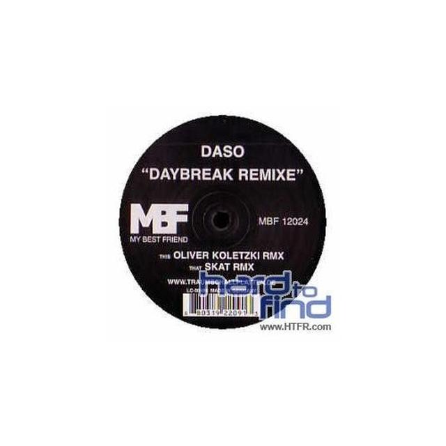 Daso DAYBREAK REMIXE (EP) Vinyl Record - Remixes