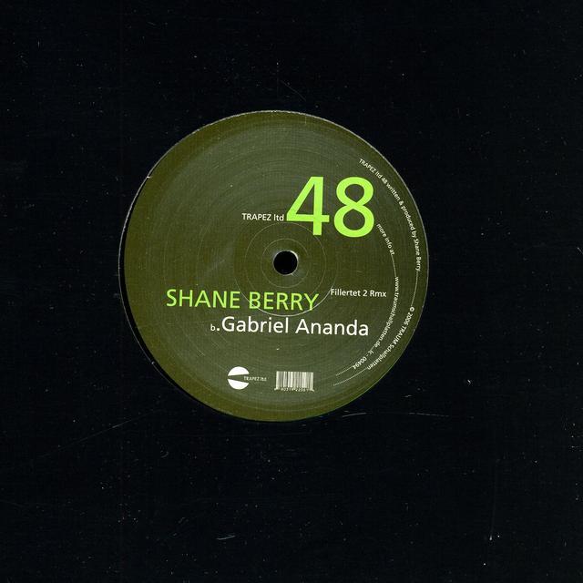 Shane Berry FILLERTET 2 RMX (EP) Vinyl Record - Remixes