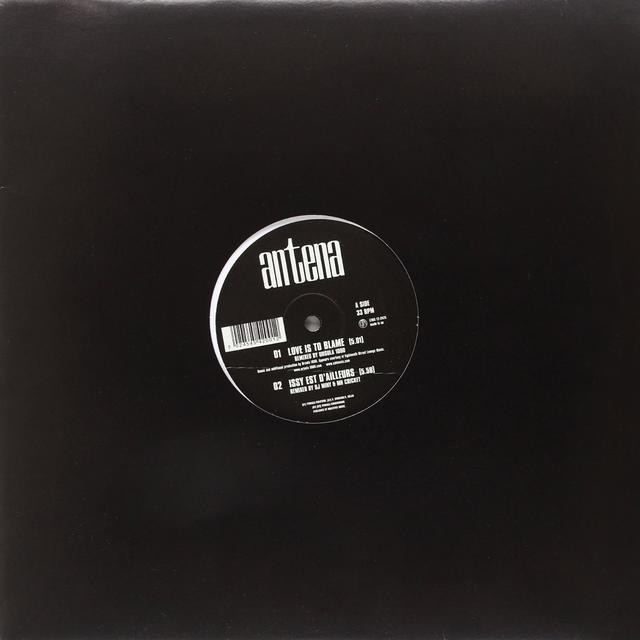 Antena LOVE IS TO BLAME/REMIXES Vinyl Record