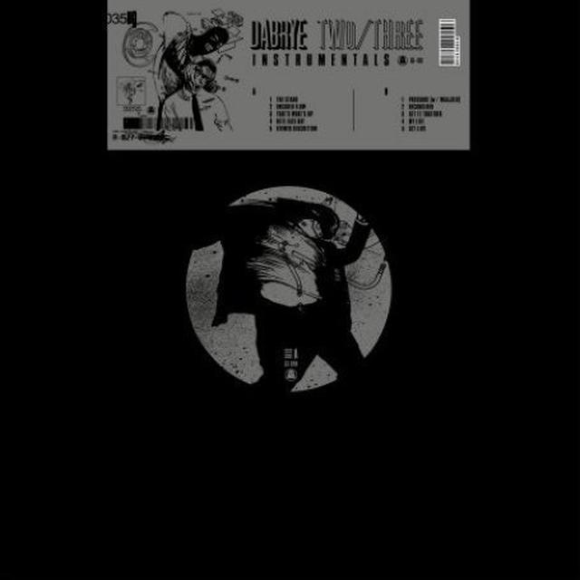 Dabrye TWO / THREE INSTRUMENTALS Vinyl Record