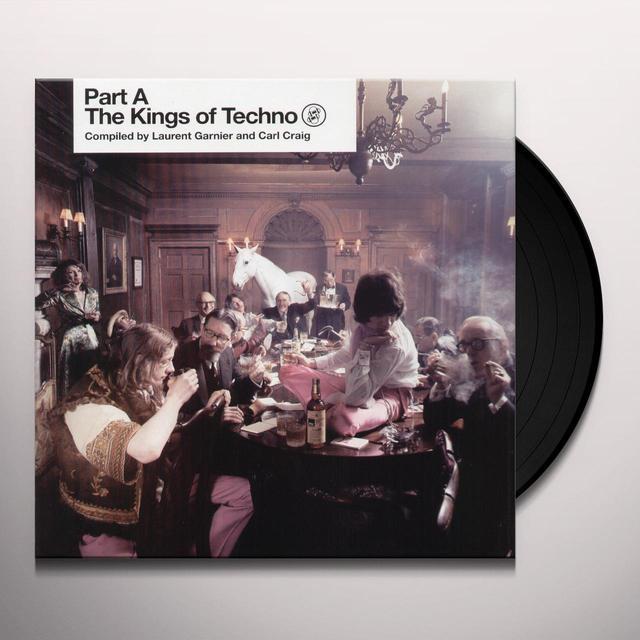 Laurent Garnier & Craig Carl KINGS OF TECHNO PT A (Vinyl)